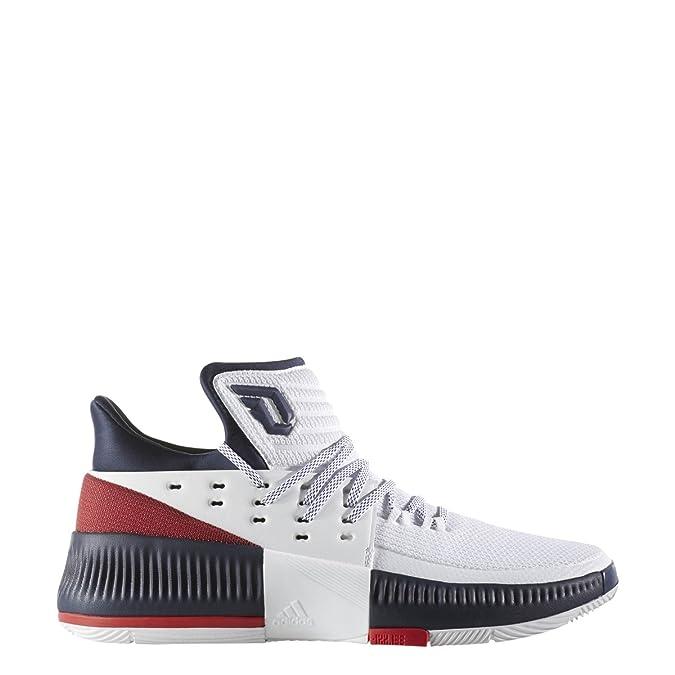 new arrivals 12000 3be9b Amazon.com   adidas Men s Dame 3 Basketball Shoe   Basketball
