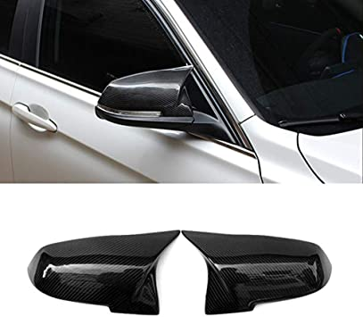 JMY Replacement Side Mirror Cover Caps fits BMW 3 Series F30 F34 1 Series F20 2 Series F22 4 Series F32 F33 F36 F87 ABS X1 Series E84 2013-2015 M2