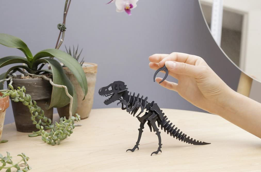 Assorted KIKKERLAND GG94-A Dinosaur 3D Paper Puzzle