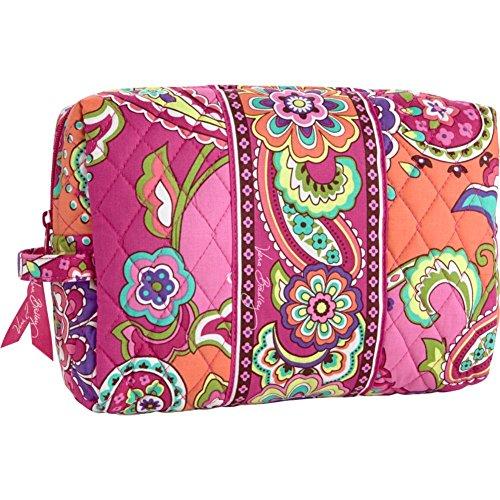 Vera Bradley Luggage Women's Large Cosmetic Pink Swirls