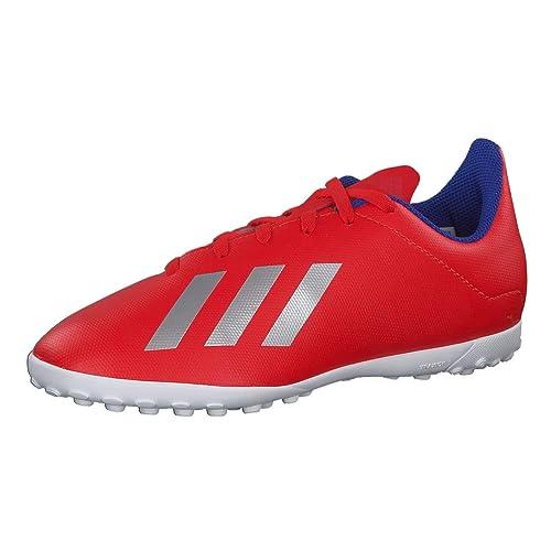 cheap for discount 9c74d f42cf adidas X 18.4 Tf J Scarpe da Calcio Unisex-Bambini, (Multicolor 000)
