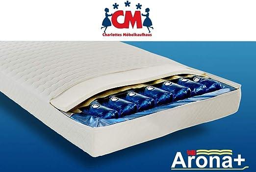 Wasserbett 140x200 Cm Wasserbettmatratze Arona Komplett Set Wassermatratze Für Alle Gängigen Bettgestelle Deutscher Markenhersteller