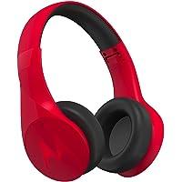 Motorola Pulse Escape Bluetooth Kulaküstü Kulaklık, Kırmızı (Mikrofonlu, Gürültü izolasyonu)