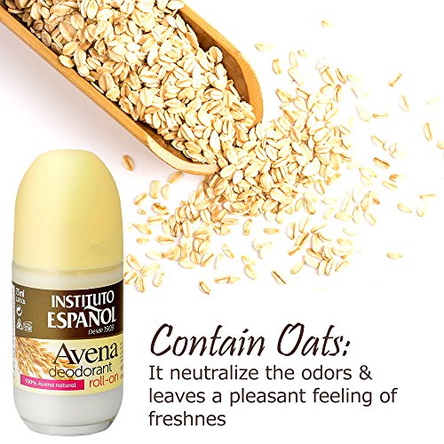 Amazon.com : AVENA OAT ROLL ON DEODORANT SOFT FRESH NEUTRALIZES ODORS ALL DAY NO IRRITATION : Beauty