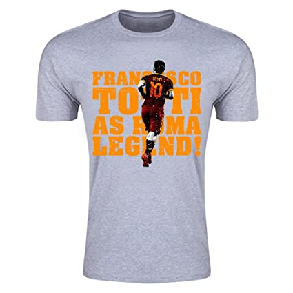 702ab1260 Image Unavailable. Image not available for. Color  Francesco Totti Roma  Legend T-Shirt ...