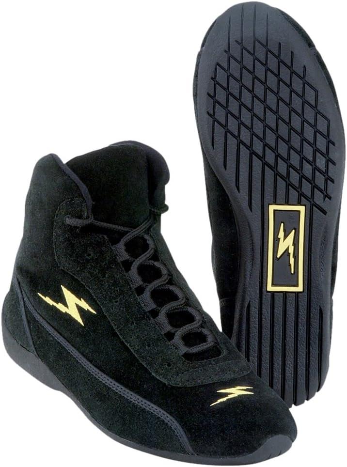 Size 9.5 IMPACT 47009510 Black Mid Top Shoe