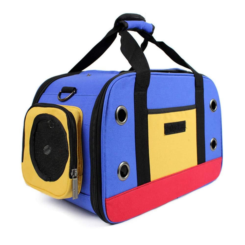 LXFGB Space Canvas Pet Backpack Breathable Shoulders Out Single Shoulder Slung Pet Supplies