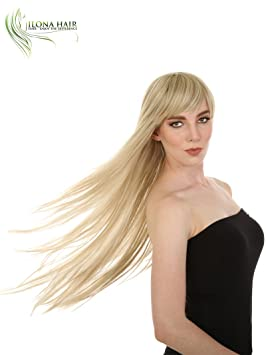 ... For White and Black Woman Stella 2+20 Heat Friendly black brown and blonde colors options 100% Heat Resistant Hair peluca larga ... (H16/613) : Beauty