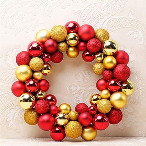 Immagini Di Palline Di Natale.Shuangklei 35cm Ghirlanda Natalizia Oggetti Decorativi 55