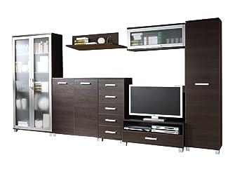 Moderne Wohnwänd Wohnzimmerschrank Wohnzimmer Möbel: Regale mit 2 ...