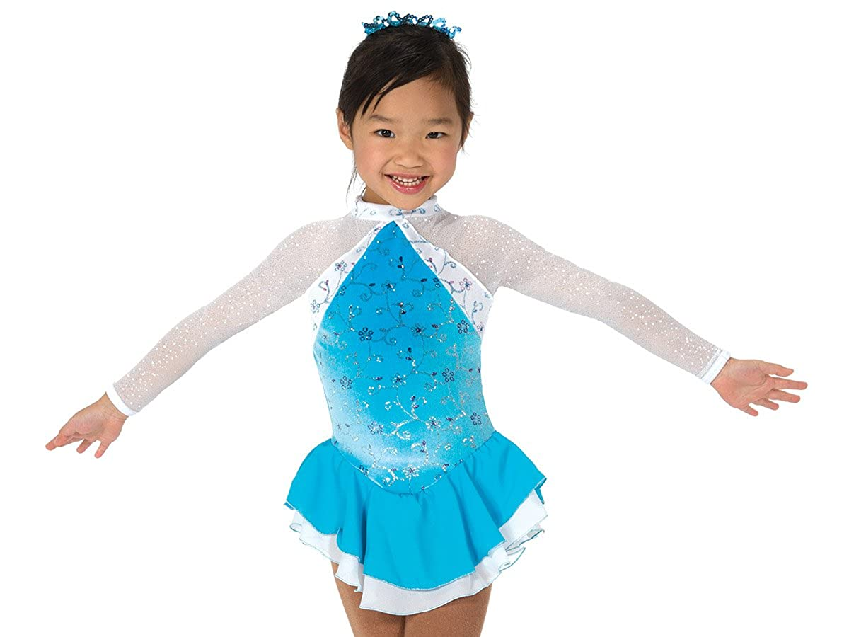 Jerry's Skating World DRESS ガールズ B0736GG86R Parent ターコイズ 43259