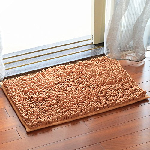 Household mats bedroom carpet mats bathroom mats toilet water-absorbing mat -4565cm C by ZYZX