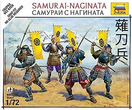 Samurai With Naginata ZVE 6403
