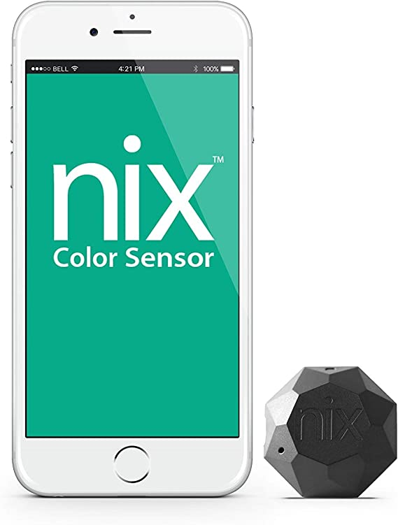 Nix Mini 1 Color Sensor - Portable Color Matching Tool - Identify and Match Paint and Digital Color Values Instantly (Renewed)