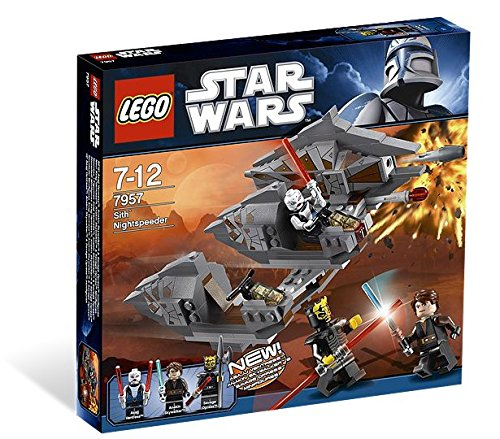 LEGO Star Wars Sith Nightspeeder 7957 (Lego Star Wars Ewok Sets)