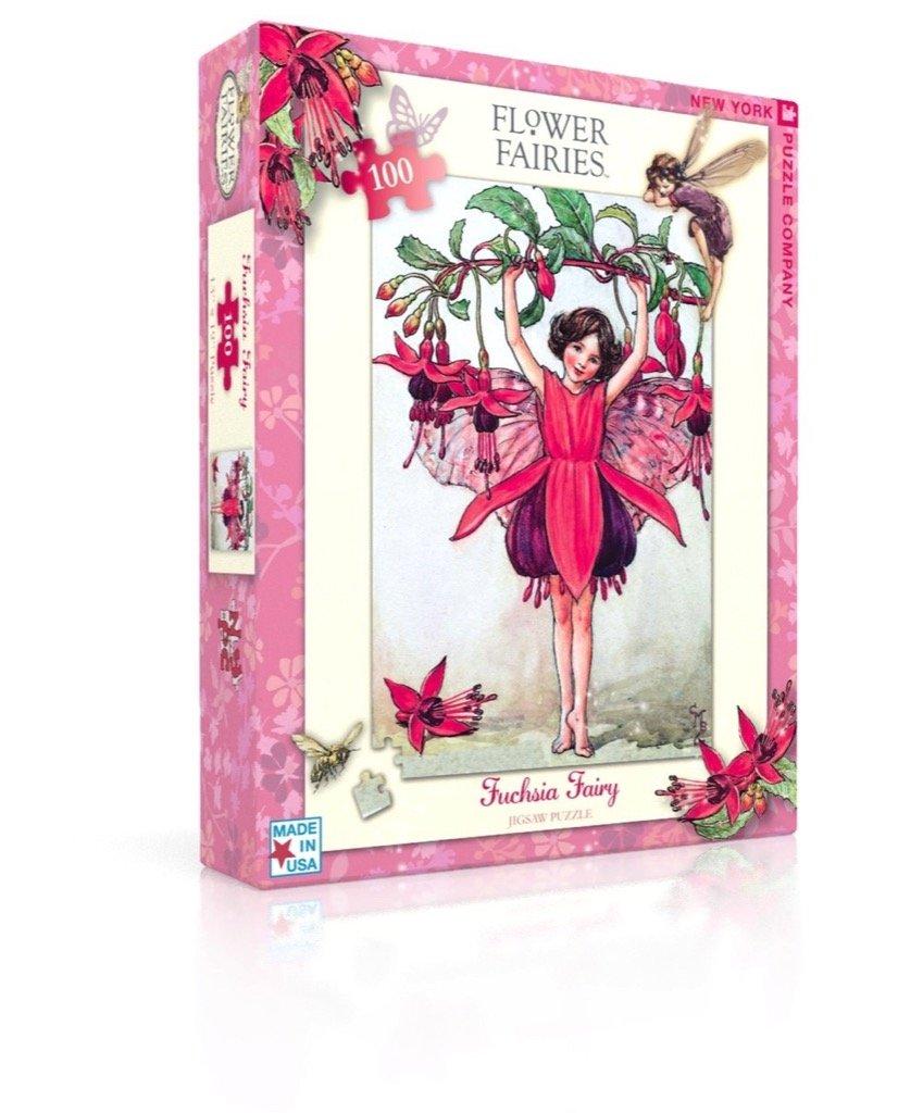 Amazon New York Puzzle Company Flower Fairies Fuchsia Fairy