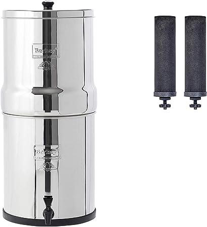 Big Berkey - Filtro de agua alimentado por gravedad con 2 ...