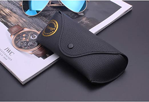 DGRZL Caja de Gafas de Sol Cuero de Cuero de Cuero Gafas portátiles Caja Gafas de Sol Caja de Alta Gama clelador Espejo Caja Ligera Caja Suave: Amazon.es: Hogar
