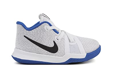 b1107c9692a2 Image Unavailable. Image not available for. Color  Nike Kyrie3 Infants  Toddlers Shoes White Hyper Cobalt Black 869984-102 (