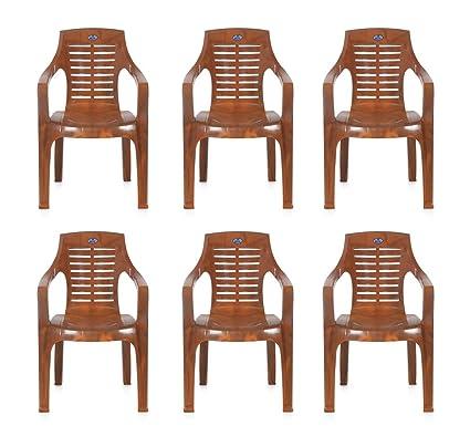 Nilkamal Set Of 6 Chairs (Mango Wood)