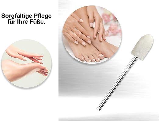 Filz Polierer Fräser Zum Glätten Und Polieren Von Nägeln Drogerie Körperpflege