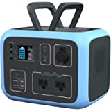 BLUETTI solar generator AC50S Power Station 500Wh MPPT Sine-Wave w/ 2AC Outlet 120V,PD 45W USB-C,Wireless Charging…