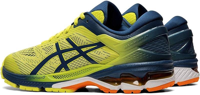 ASICS Gel-Kayano 26 Sneakers Herren Gelb/Blau (Sour Yuzu Mako Blue)