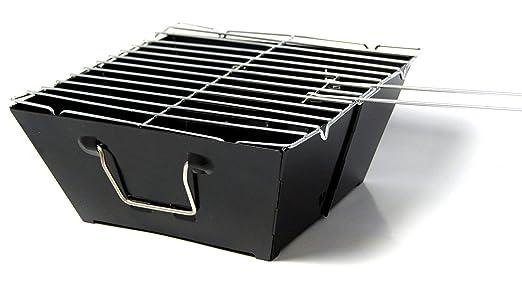 Landmann 11526 Portago Holzkohlegrill : Picknick klapp grill mini klappgrill portabler: amazon.de: elektronik