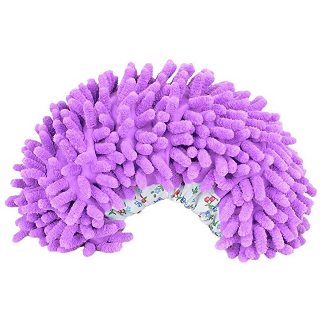 Demino 1 par Lavable fregona de Polvo Zapatilla de Ministerio del Interior de bañ o Cocina Limpiador Cubierta del Piso Quitar el Polvo de Limpieza del pie del Zapato