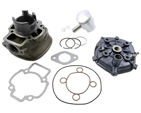 Cilindro Kit 50 ccm Incluye Cabeza para Aprilia Sr 50 cc, Derbi Atlantis, GP1