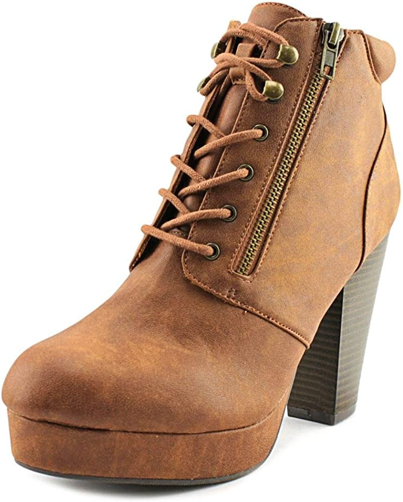 Material Girl rheta Round Toe Synthetic Ankle Boot