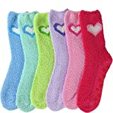 Keep your feet toasty with these ultra soft anti-skid fuzzy socks. Perfect for chilly days, these socks feel great on the skin and are the ultimate in comfort. Pulling on a pair of them for a winter walk, a cold nights sleep, or simply for lounging a...