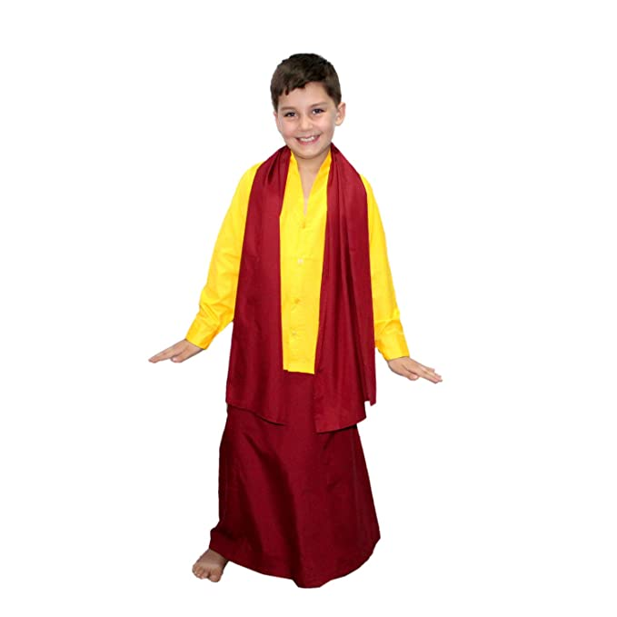 Amazon.com: Kaku Fancy Dresses - Disfraz de Buda para niños ...
