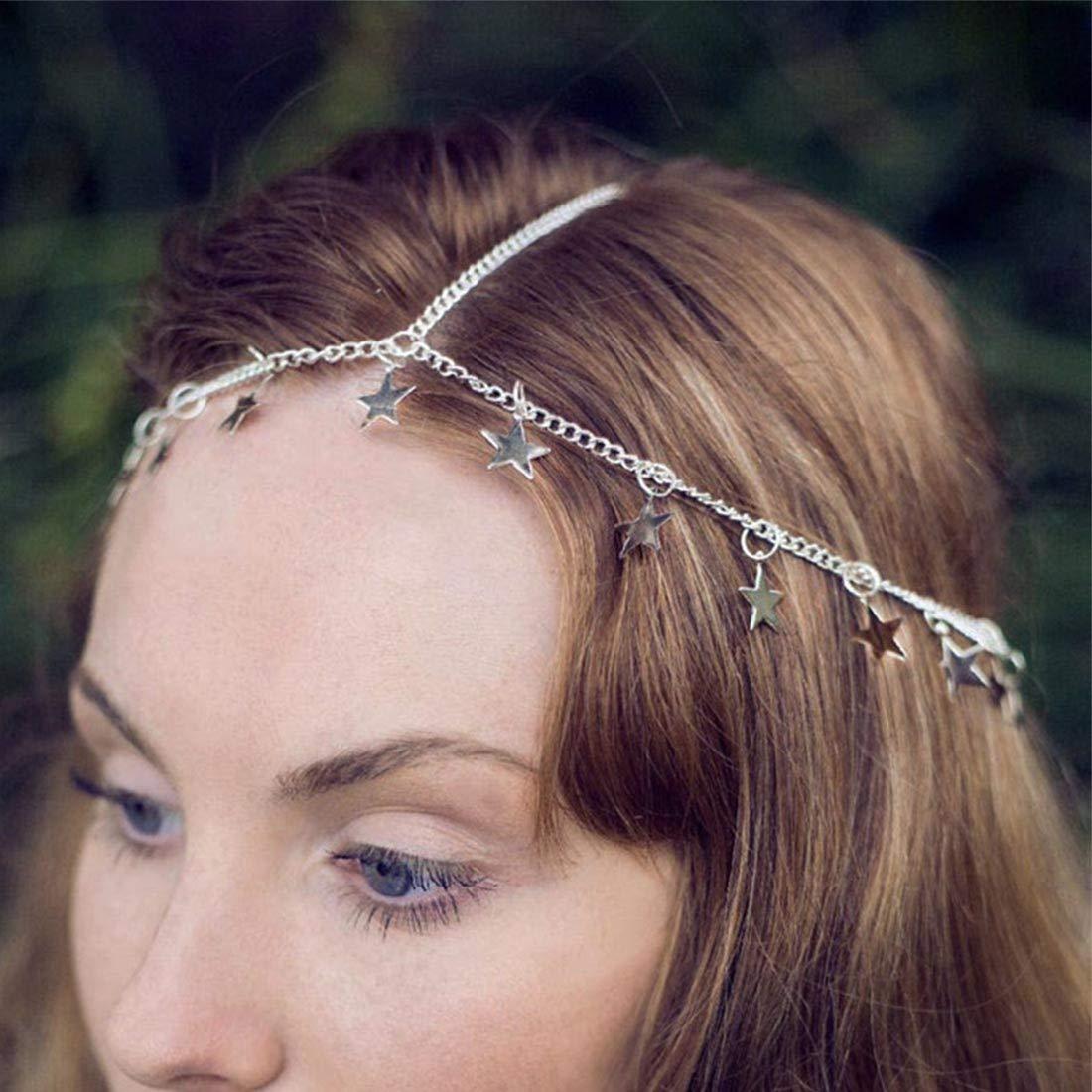 Sea Shell Mermaid Crown Tiara Headband Cosplay Festivals Boho Hippy