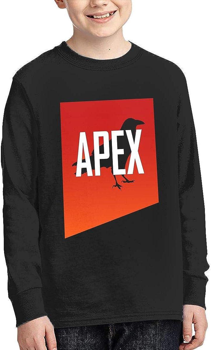 Optumus APEX Kids Sweatshirts Long Sleeve T Shirt Boy Girl Children Teenagers Unisex Tee