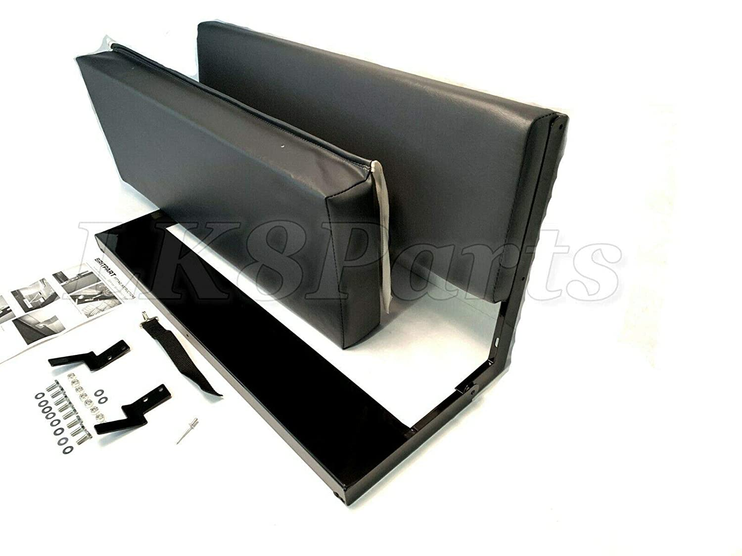 LAND ROVER SERIES 88 SWB  2 SEAT FOLDING REAR BENCH 320737 2 WITH FITTINGS