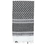 Voodoo Tactical 08-3065024000 Men's Woven Coalition Desert Scarves, White/Black