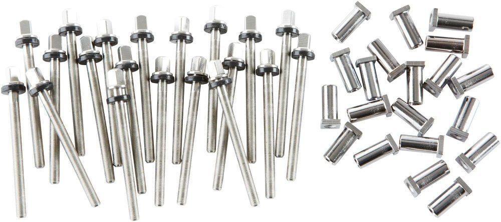 DW True Pitch Snare Drum Tension Rods (20-pack) 5.5 Inch Deep Drum Drum Workshop DWSMTP50S55