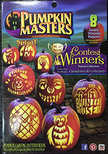 Pumpkin Masters Contest Winners Halloween Pumpkin Carving Pattern Book (Winner Halloween)