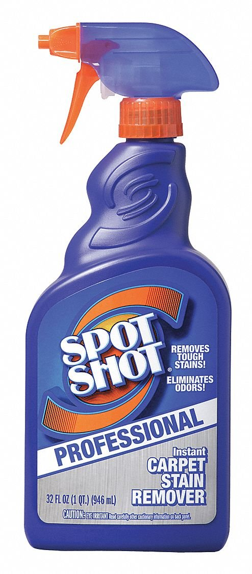 Spot Shot Spot and Stain Remover, Bottle, PK12 by Spot Shot