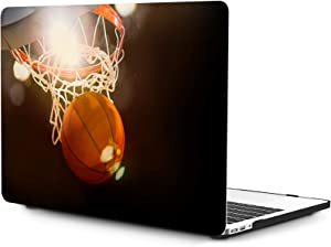 OneGET Laptop Case for MacBook Air 13 Inch Case Hard Shell 2010-2017 A1369 A1466 with Retina Display Computer Case MacBook Air 13 Case Basketball (S29)