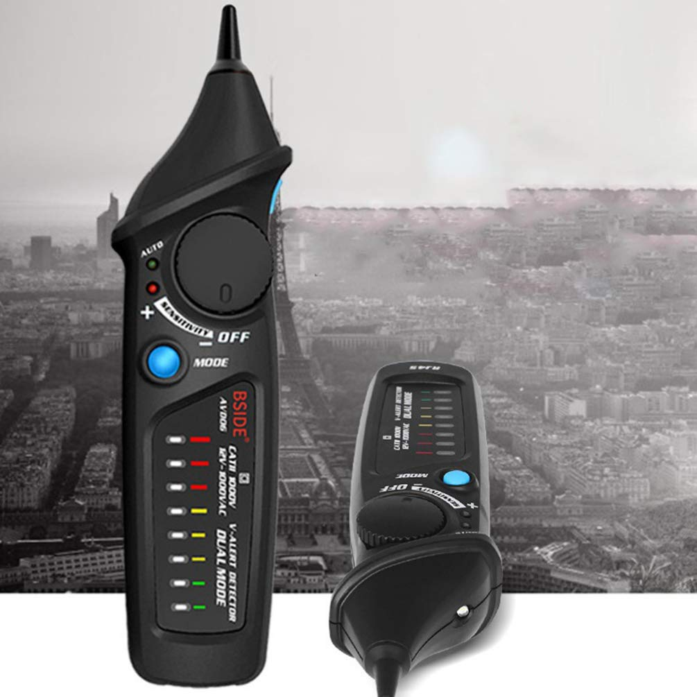 UKCOCO Non Contact Voltage Tester Socket Outlet AC Voltage Pen Voltage Power Sensitivity Detector for Home