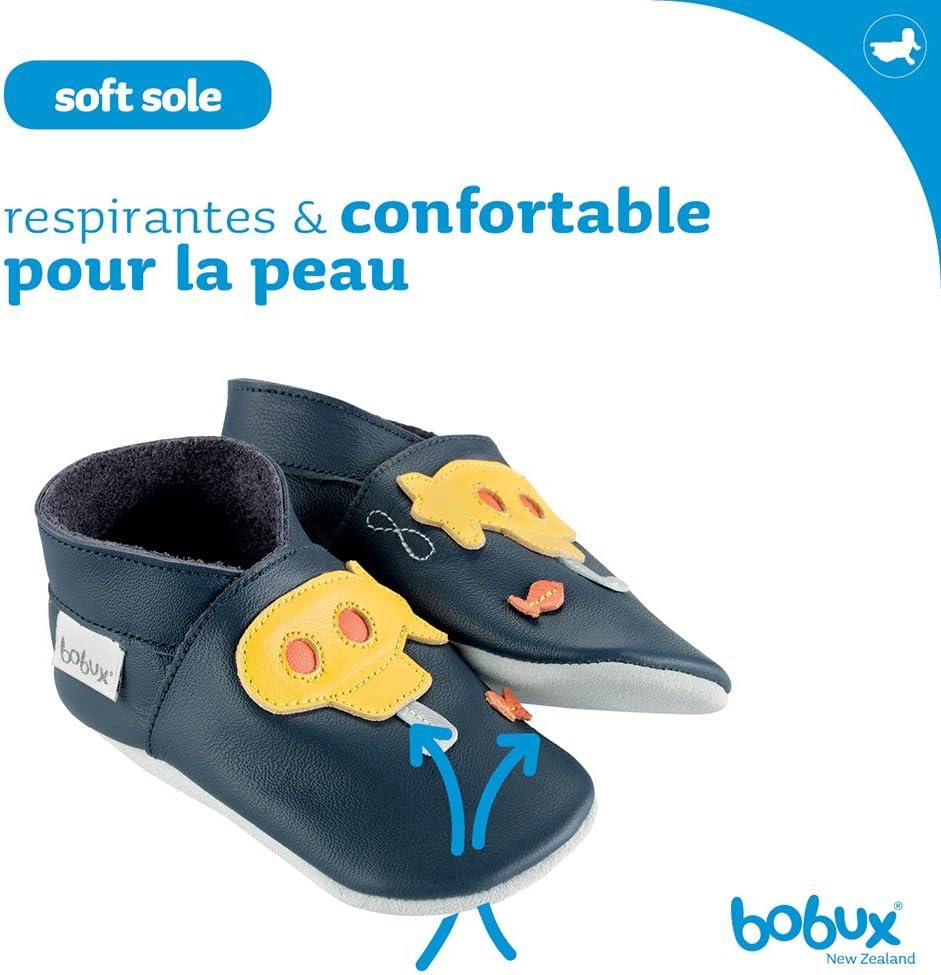 Giallo//Blu colore Scarpe per beb/è con sottomarino Bobux BB 4162