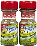 McCormick Perfect Pinch Lemon & Herb, 2.5 oz, 2 pk