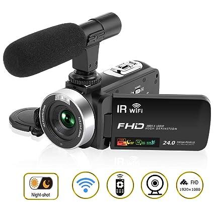 Videocamera 1080P 30FPS Videocamera Full HD 24.0MP 3    LCD Touch Screen  Camcorder per c17d23658f69