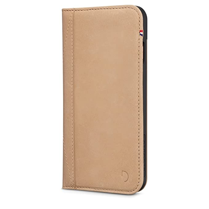 low priced 15b1c 79997 Decoded Leather Wallet Case for Apple iPhone 7 Plus (Sand)