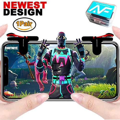Price comparison product image Anfiner joystick smartphone game controller / triggers for Fortnite / PUBG / ROS / Knives Out / Rules of Survial (1Pair)