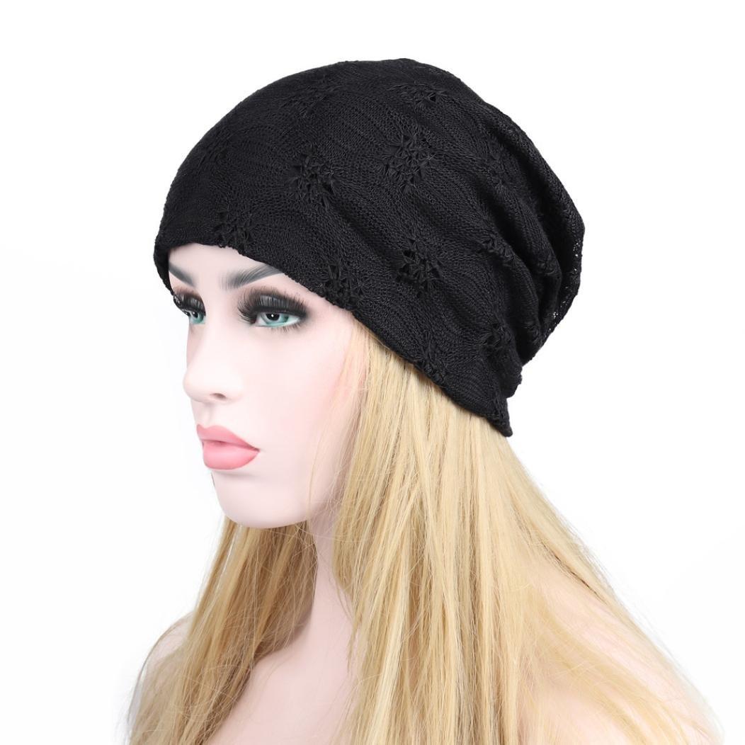 Omiky® Mode Frauen Warme Winter Spitze Beanie Kopf Cap Outdoor Fashion Warm Hut