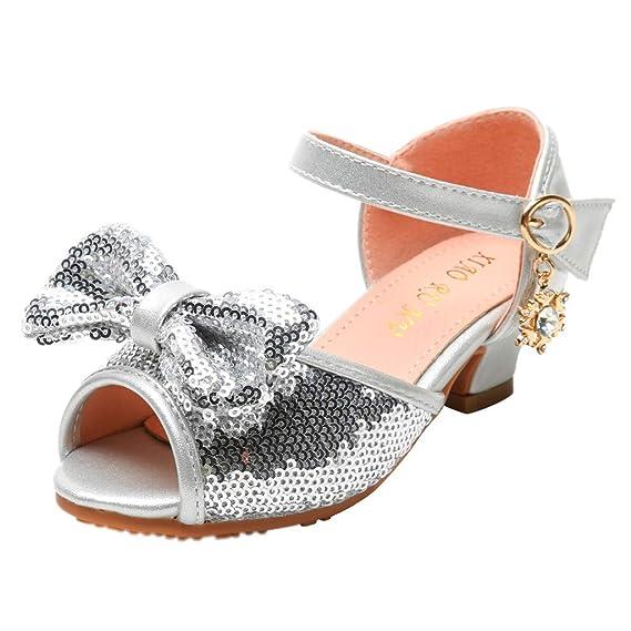 certainPL Sequin Sparkly Princess Shoes