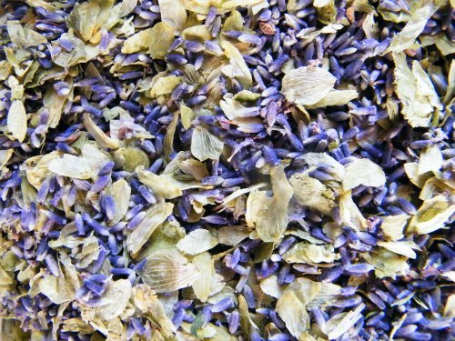Dried lavender & hops relaxing mix - 500g Daisy Gifts Ltd